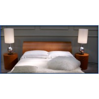 Queen Bed Tailored White Percale Doona Cover