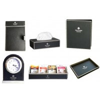 Black Leatherware Collection Set