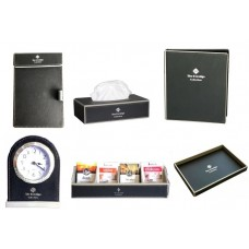 Black Leatherware Collection Set