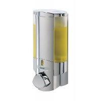 Single chrome AVIVA liquid soap dispenser