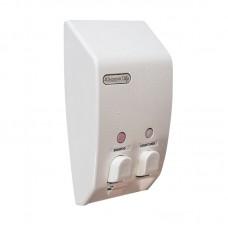 Classic Twin White Soap Dispenser