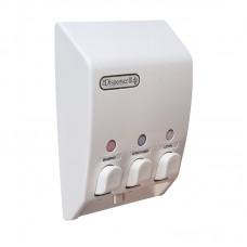 Classic Triple White Soap Dispenser