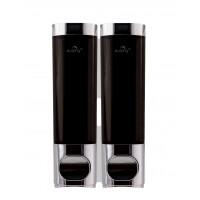 Twin Chrome Shower Dispenser