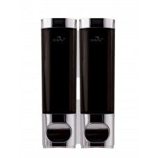 Twin Chrome Shower Dispenser