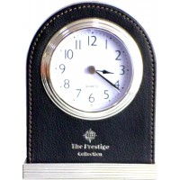 Leather Hotel Clock