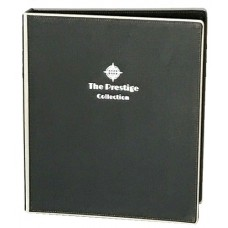 Black Leather Guest Information Folder