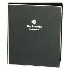 Black Leather Guest Information Folder