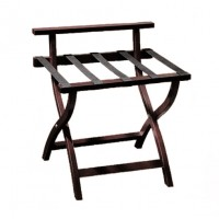 Wooden Luggage Rack - Mahogany - Special