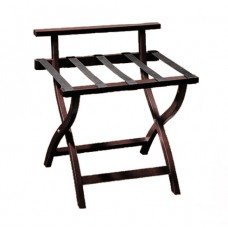 Wooden Luggage Rack - Mahogany - SALE