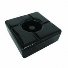 Black Windproof Ashtray