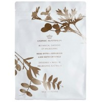 Rose Otto and  Geranium Bath Salts 1Kg + FREE Loofah