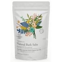 Mandarin and Bergamot Bath Salts + FREE Loofah