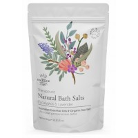 Eucalyptus & Lavender Bath Salts 1Kg + FREE Loofah