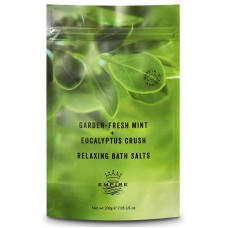 Peppermint & Eucalyptus Bath Salts 200gm