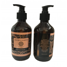 Ancient Earth Hand Wash 300ml + 2 Free Face Masks