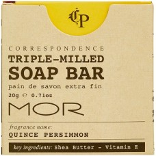 MOR Correspondence Boxed Soap Bar 20g x 200