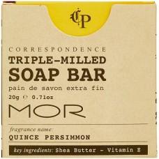 MOR Correspondence 20g Boxed Soap x 200