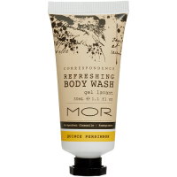 MOR Correspondence 30ml Body Wash Tubes x 50