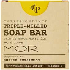 MOR Correspondence 40g Boxed Soap x 50
