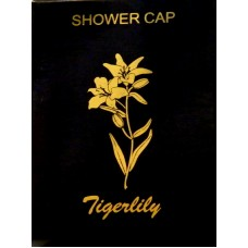 Tigerlily Black Shower caps x 100