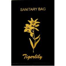 Tigerlily Black Sani bags x 100