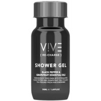 VIVE Recharge 50ml Shower Gel Bottles x 50