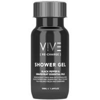 VIVE Recharge 50ml Shower Gel Bottles x 50