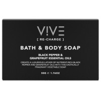 VIVE [Re-Charge] Bath and Body Soap 50gm x 50