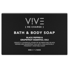 VIVE Re-Charge 50g Body Soap x 50