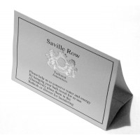 Saville Row Environmental Card