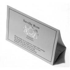Saville Row Environmental Card