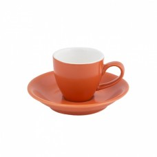 Intorno Espresso Cup 75ml and Saucer Set - Jaffa