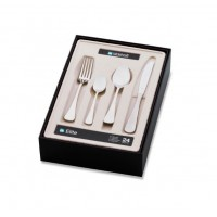 Bogart 24pc Cutlery Set with Solid Knives