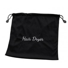 Black Hair Dryer Pouch