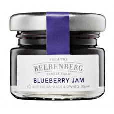Beerenberg Blueberry Glass Jam Jar 30gm x 120