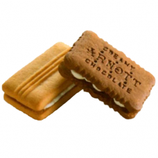 Creamy Choc & Shortbread Cream x 150 Pieces