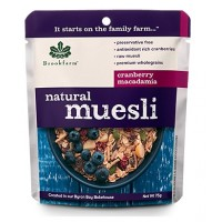 Natural Muesli with Cranberries 20pkts x 75gm