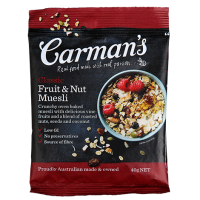 Carmans Classic Fruit & Nut Muesli 40g x 50