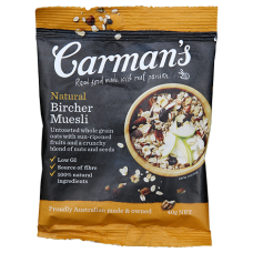 Carman's Natural Bircher Muesli Sachets 40g x 50