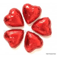 Red Chocolate Hearts 1kg