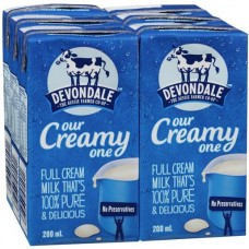 Devondale Longlife milk 200ml x 24