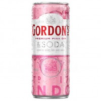 Gordon's Premium Pink Gin & Soda 250ml x 24
