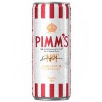 PIMM'S Lemonade & Ginger Ale 250ml x 24