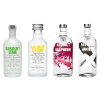 Absolut Vodka Flavour Mix 50ml x 4