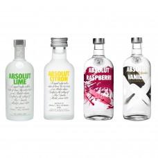 Absolut Vodka Flavour Mix 50ml x 4