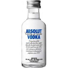 Absolut Vodka 50ml x 12
