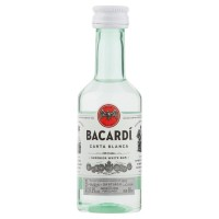 Bacardi Carta Blanca 50ml x 10