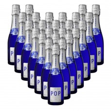 Pommery Blue POP Festive Piccolo 200ml x 12