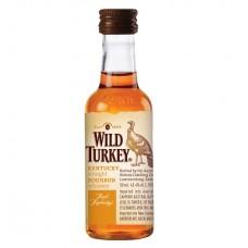 Wild Turkey Bourbon Whiskey 50ml x 10