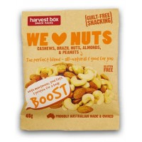 We Love Nuts Snack Packs 45gm x 10 packets